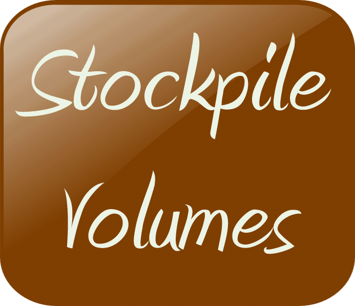 Stockpile Volumes1